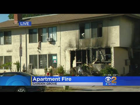 6 Cats Killed In Garden Grove Apartment Fire