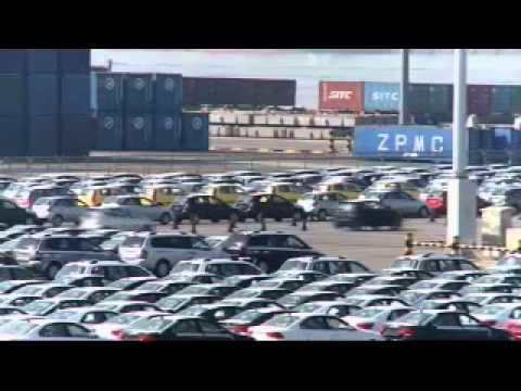 Kia Motors main shipping port in Pyeongtaek, South Korea