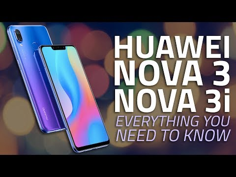 Huawei Nova 3, Nova 3i | Price, India Launch, Camera, Specs