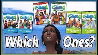 """Buying The Sims 4? My """"Starter Pack"""" Suggestions!"""