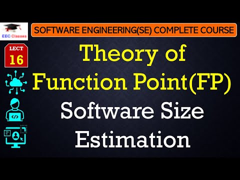 Software Size Estimation – Theory of Function Point[FP] - Software Engineering Classes
