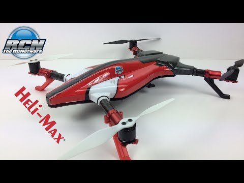 HeliMax Voltage 500 3D QuadCopter - Unboxed! - YouTube