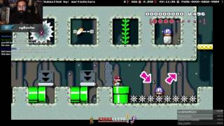 Super Mario Maker - 7 1 Floors Paths Hard -F6A8-0000-026A-99B4