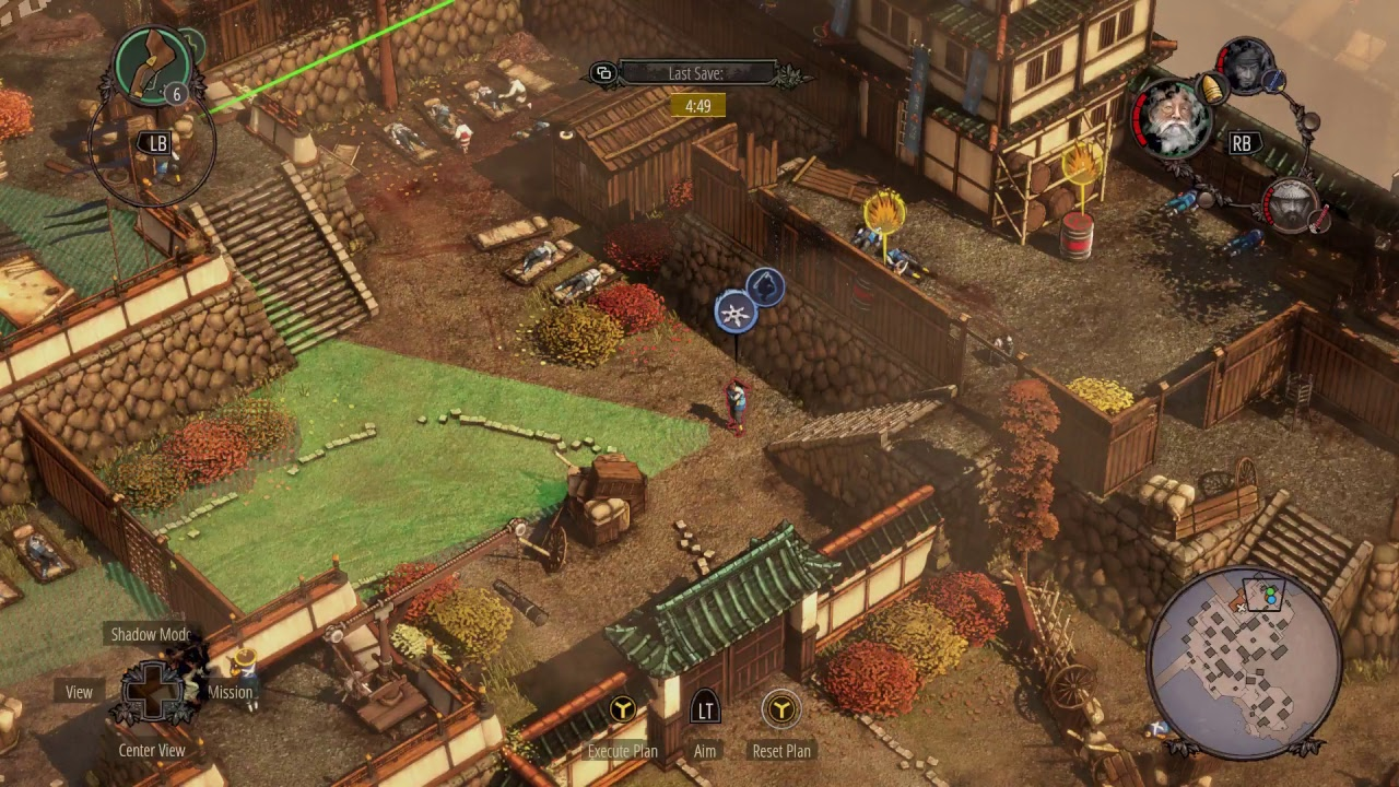 First Play of Shadow Tactics: Blades of the Shogun on Xbox One (Stream) -  YouTube