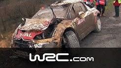 CRASH: Mikko Hirvonen/ Jarmo Lehtinen @ Wales Rally GB 2013