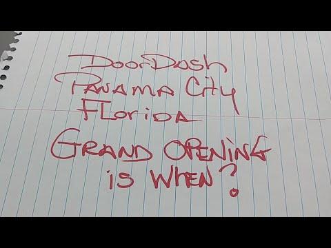 Doordash Panama City Beach In  Florida Grand Opening Is January 2019