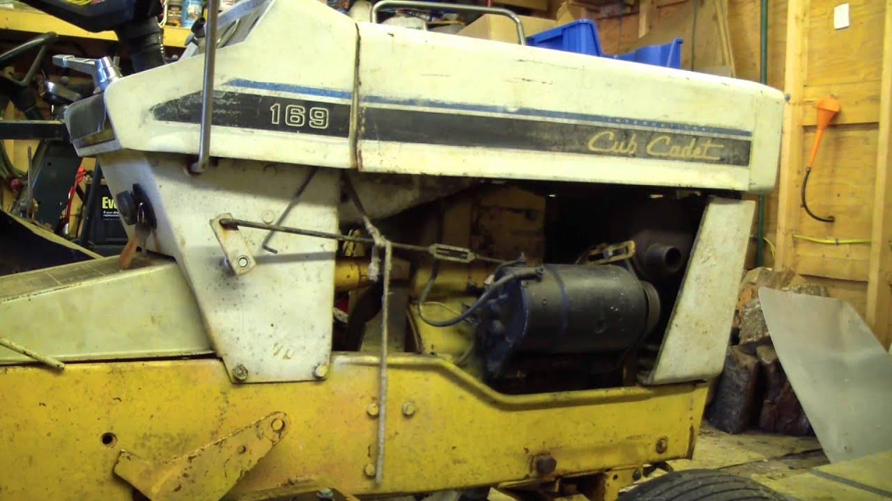 Cub Cadet 169/how to fix stuck hydro relief valve