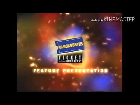 Blockbuster Ticket Feature Presentation (2001-2002)-Rated PG