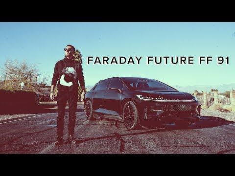 Fastest Car in the World? 1050 Horsepower!!  FARADAY FUTURE FF 91