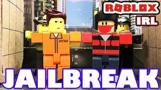 Roblox in Real Life - Jailbreak - A Roblox Toy Animation
