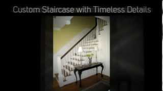 Stairs With Flair Custom Carpentry Projects By Greene Construction