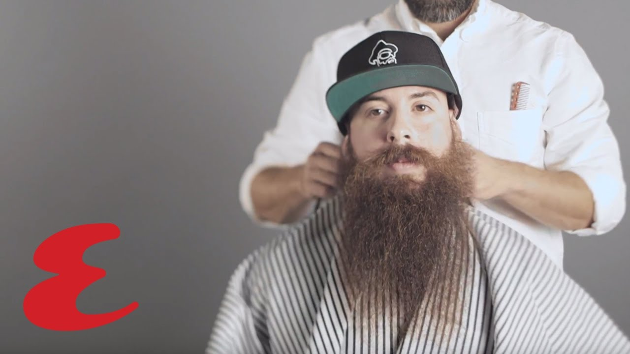 The Best Way To Trim A Long Beard Youtube