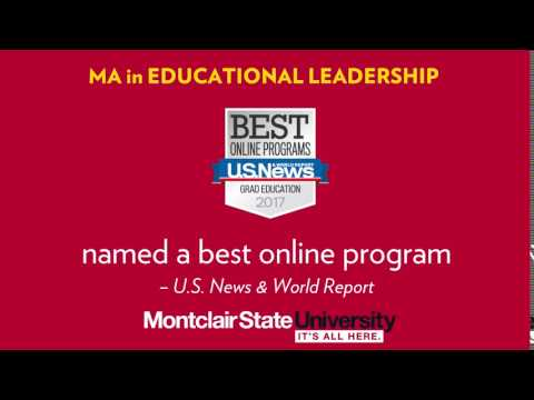 Earn your MA in Educational Leadership online