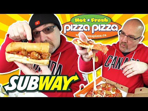 Meatless Meatballs At SUBWAY & Keto Crust Pizza At PIZZA PIZZA 🍕