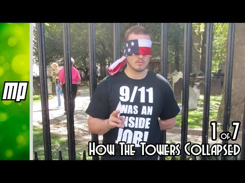 Debunking 9/11 conspiracy theorists part 1 of 7 - Free fall and how the towers collapsed