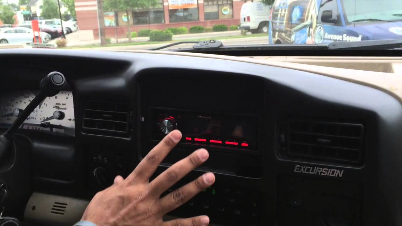 2005 Ford Excursion Ipad Mini Installation Pioneer Radio Install And Back Up Camera