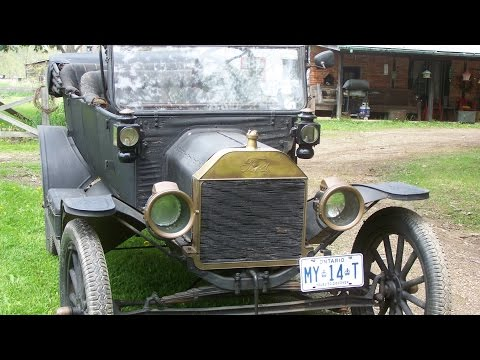 Awesome 1914 Model T- Part 1