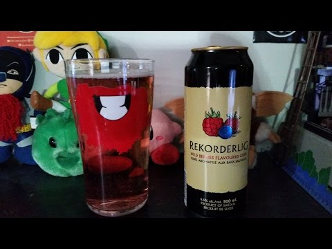 Vlog | SO MUCH OF THE TASTY | Rekorderlig Wild Berries Flavoured Cider [Daily Drink #380]