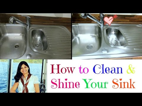 How to Clean a StainlessSteel Sink|| Shine Your Sink||Deep Clean Your Kitchen Sink
