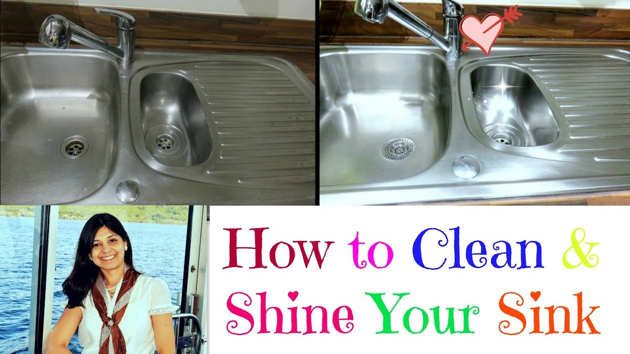 what to do when your kitchen sink is clogged how to clean a stainlesssteel sink shine your sink 2271