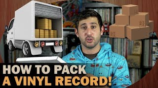 How To Pack And Ship Vinyl Records