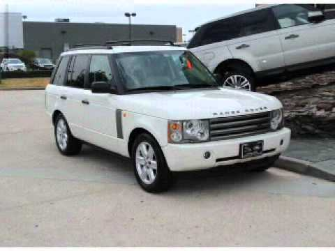 2003 land rover range rover houston tx youtube. Black Bedroom Furniture Sets. Home Design Ideas