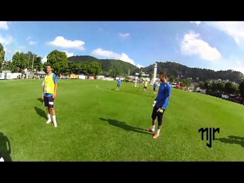 Teaser do último treino de Neymar Jr. no Santos FC