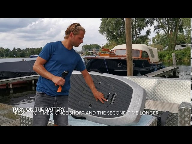 Introduction video - Assemble your Waydoo electric hydrofoil surfboard.