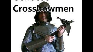 Genoese Crossbowmen - History and Equipment