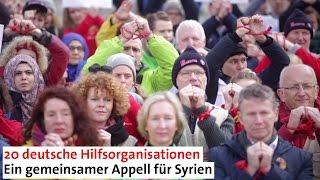 Wir fordern: Zugang für humanitäre Hilfe in ganz Syrien!