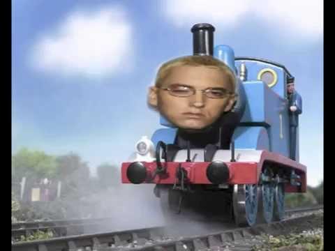 Eminem vs. Thomas the dank engine - The real shady train