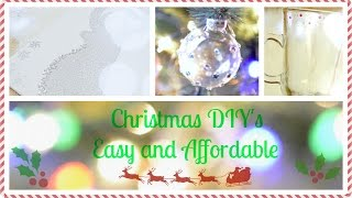 * Christmas DIY Gifts and Decorations * Thumbnail