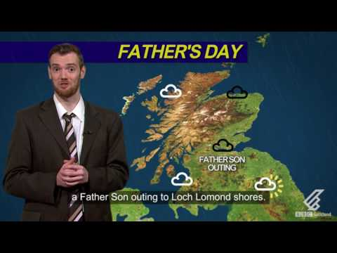 Father's Day Weather Report