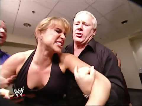 Mr  McMahon, Sable, Stephanie McMahon And Fit Finlay Backstage Segment   Video Dailymotion
