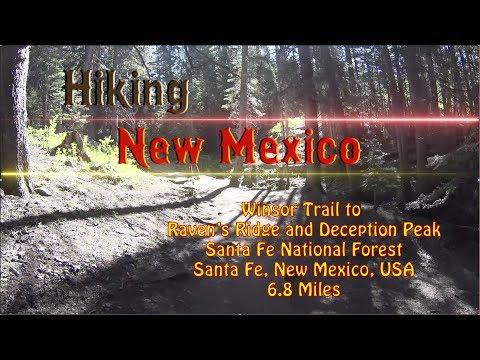 Day Hike: Winsor Trail to Deception Peak ~ Santa Fe National Forest ~ Santa Fe, New Mexico USA