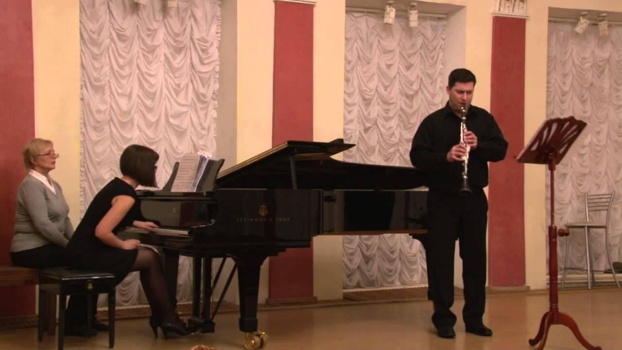 Ф пуленк соната для кларнета и фортепиано