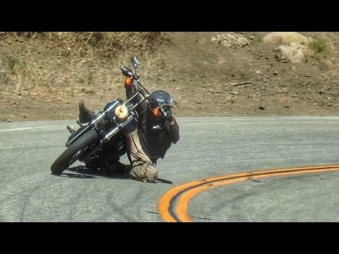 Mulholland Riders 9/2015 - Doggy Two-Up, Harley Knee Drag, Chopper , Supermoto