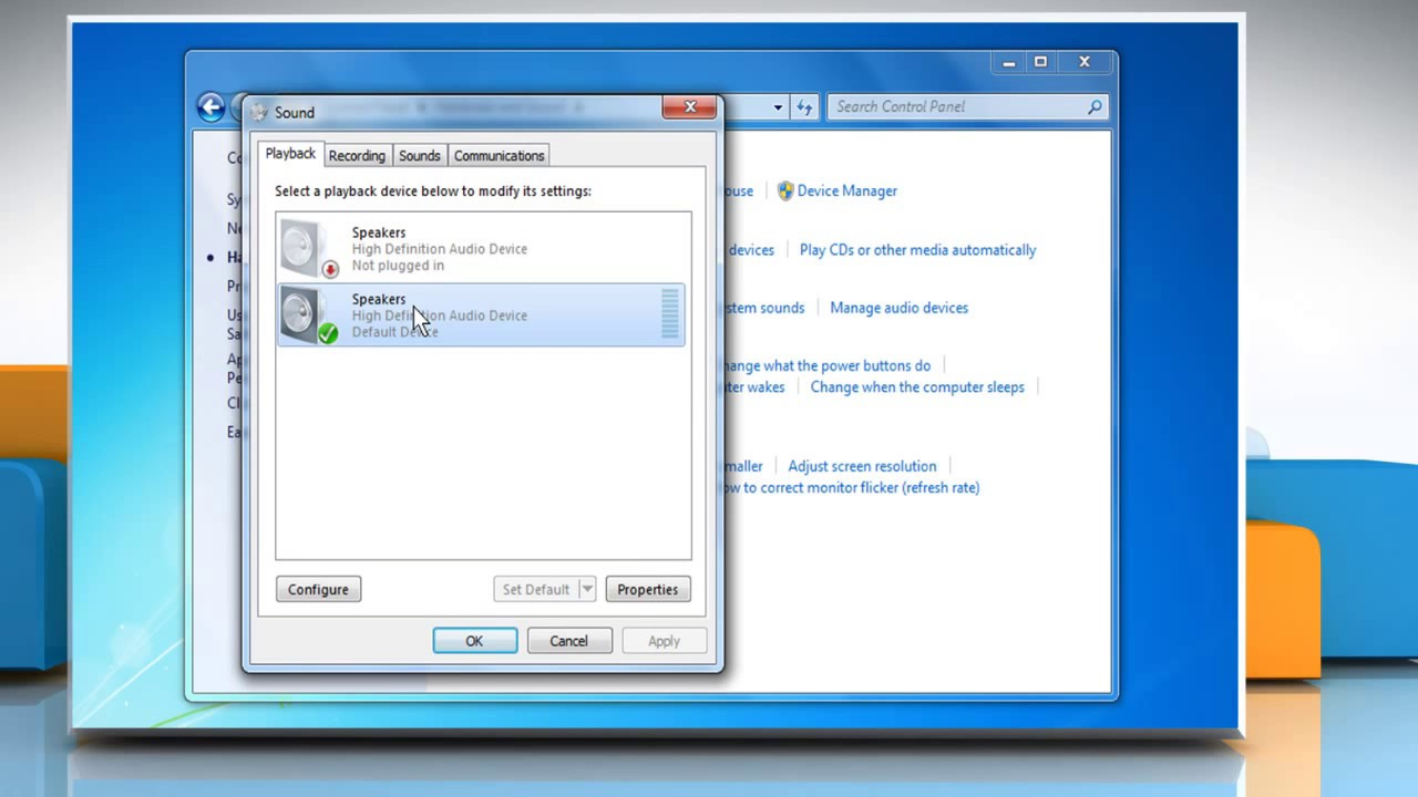 Sound is not working after upgrading Skype® on Windows® PC