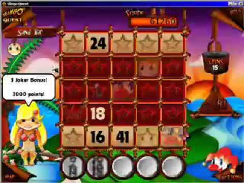 free slingo quest games