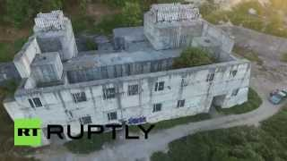 Aerial footage: Soviet bunker was to be Black Sea Fleet command post in case of nuclear war