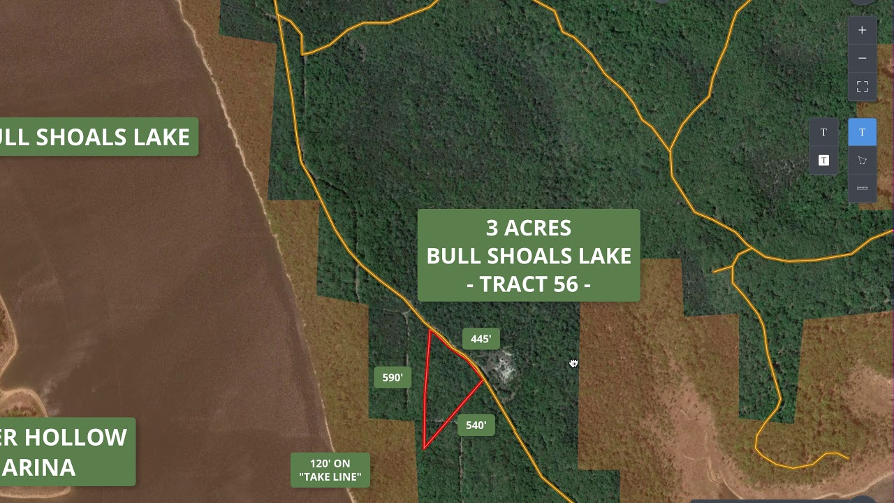Mapright Video - 3 Acres on Bull Shoals Lake with Views ID#TS56 ...