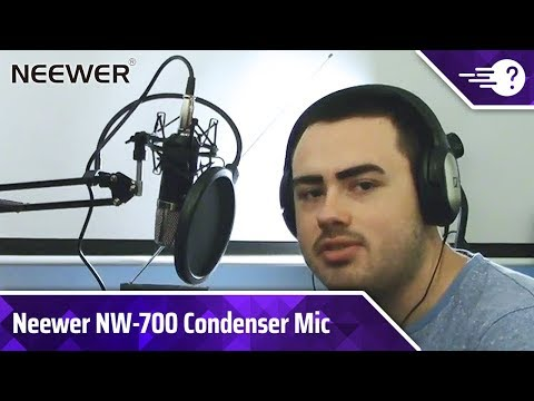 Neewer NW-700 Condenser Microphone Review | TechBaffle