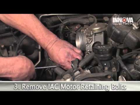 how to change idle air control (iac) valve motor - 2002 mitsubishi montero  sport - youtube