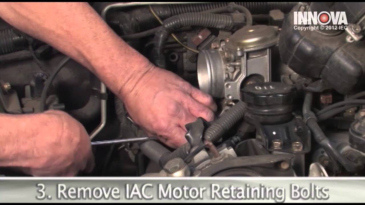 how to change idle air control iac valve motor 2002 mitsubishi montero sport youtube [ 1280 x 720 Pixel ]