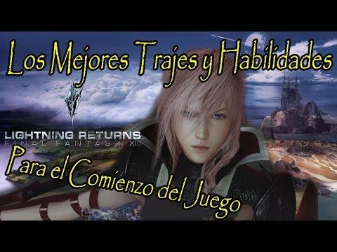 Let's Play Lightning Returns FFXIII - 02 - Español Playthrough Primera HORA - Analisis y Consejos