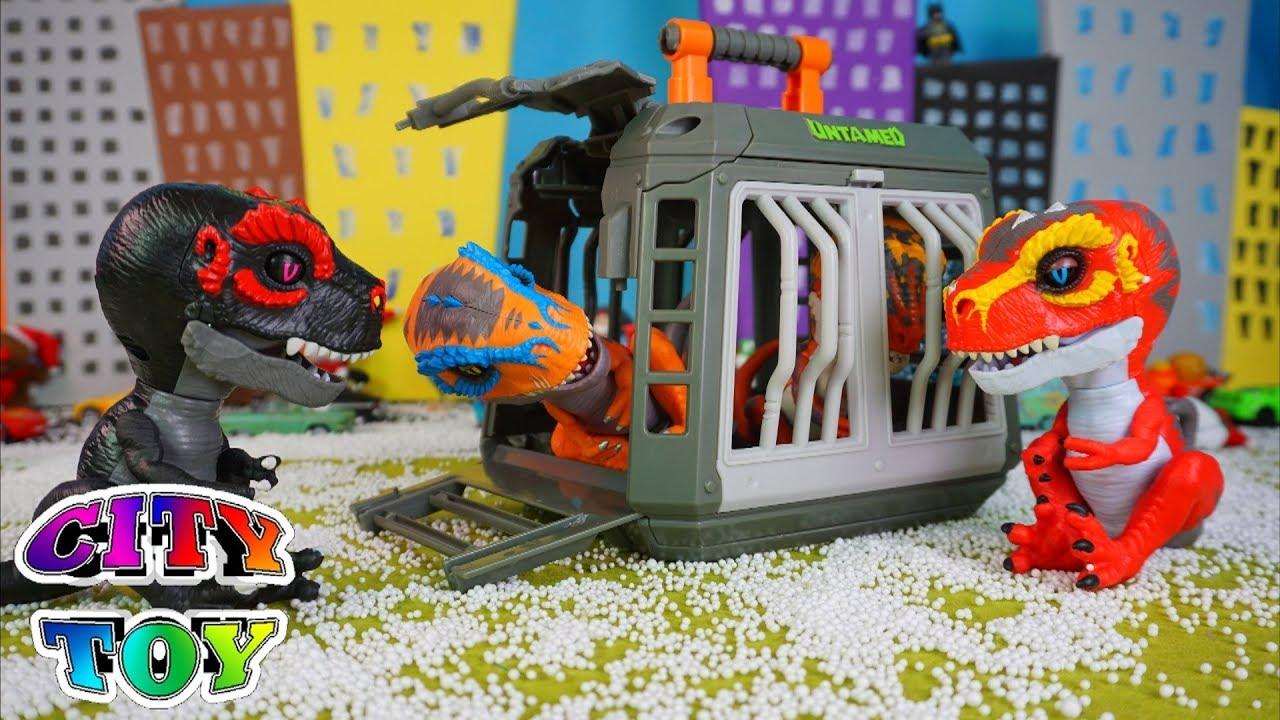 Los Untamed T Rex Llegan En Navidad A City Toy Youtube Probetas que contienen slime o arena mágica y un mini untamed coleccionables. los untamed t rex llegan en navidad a city toy