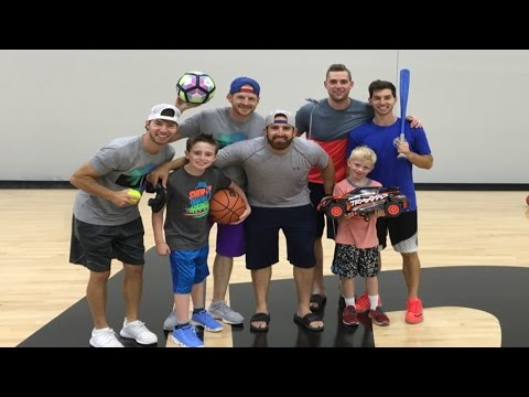 All Sports Trick Shots | With Dude Perfect