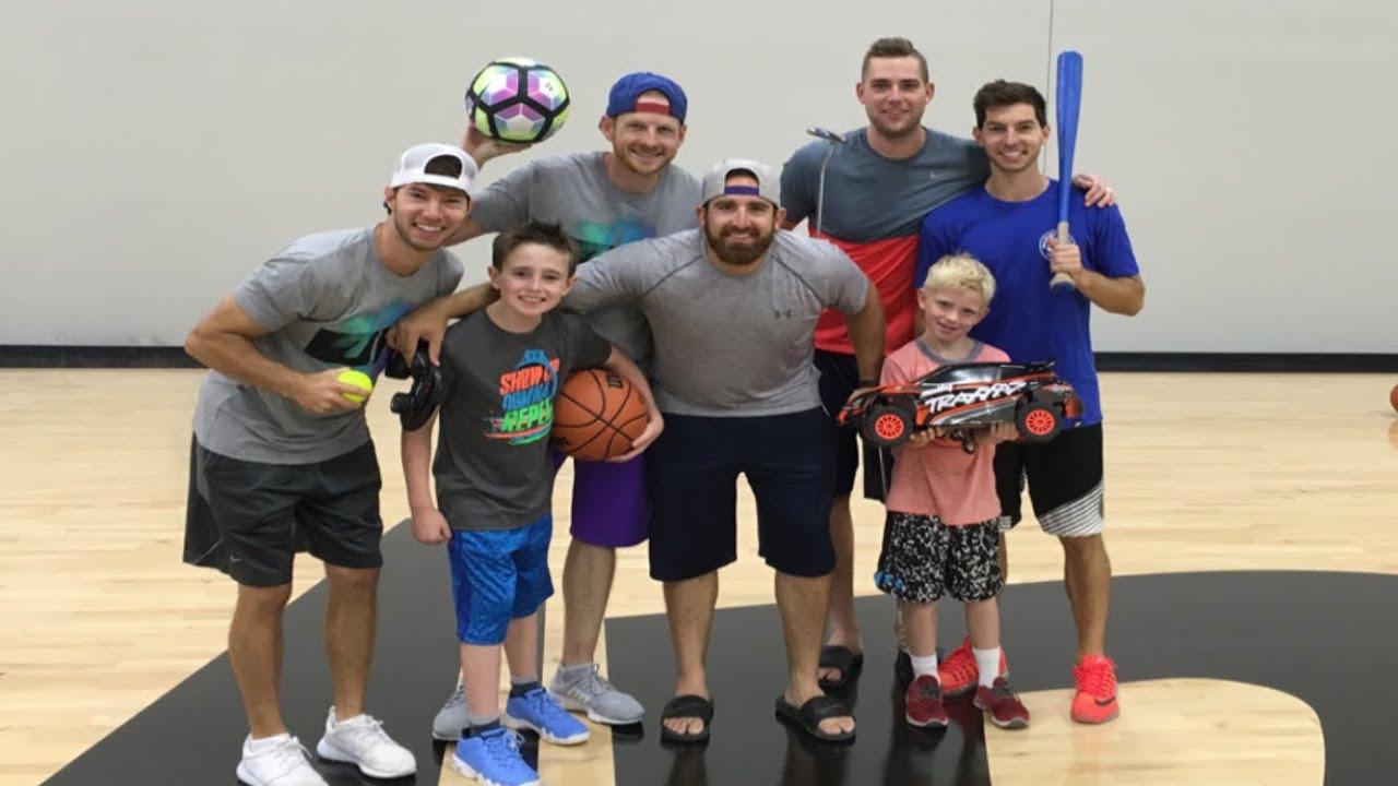 All Sports Trick Shots With Dude Perfect Youtube