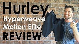 Hurley Phantom Hyperweave Motion Stripe Elite Review