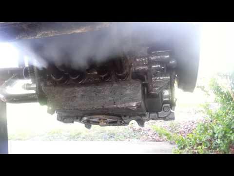 Washing VW Engine